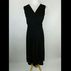 Max Mara Studio Grecian Draped Stretch Dress